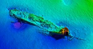 shipwreck GOSFORD multibeam sonar