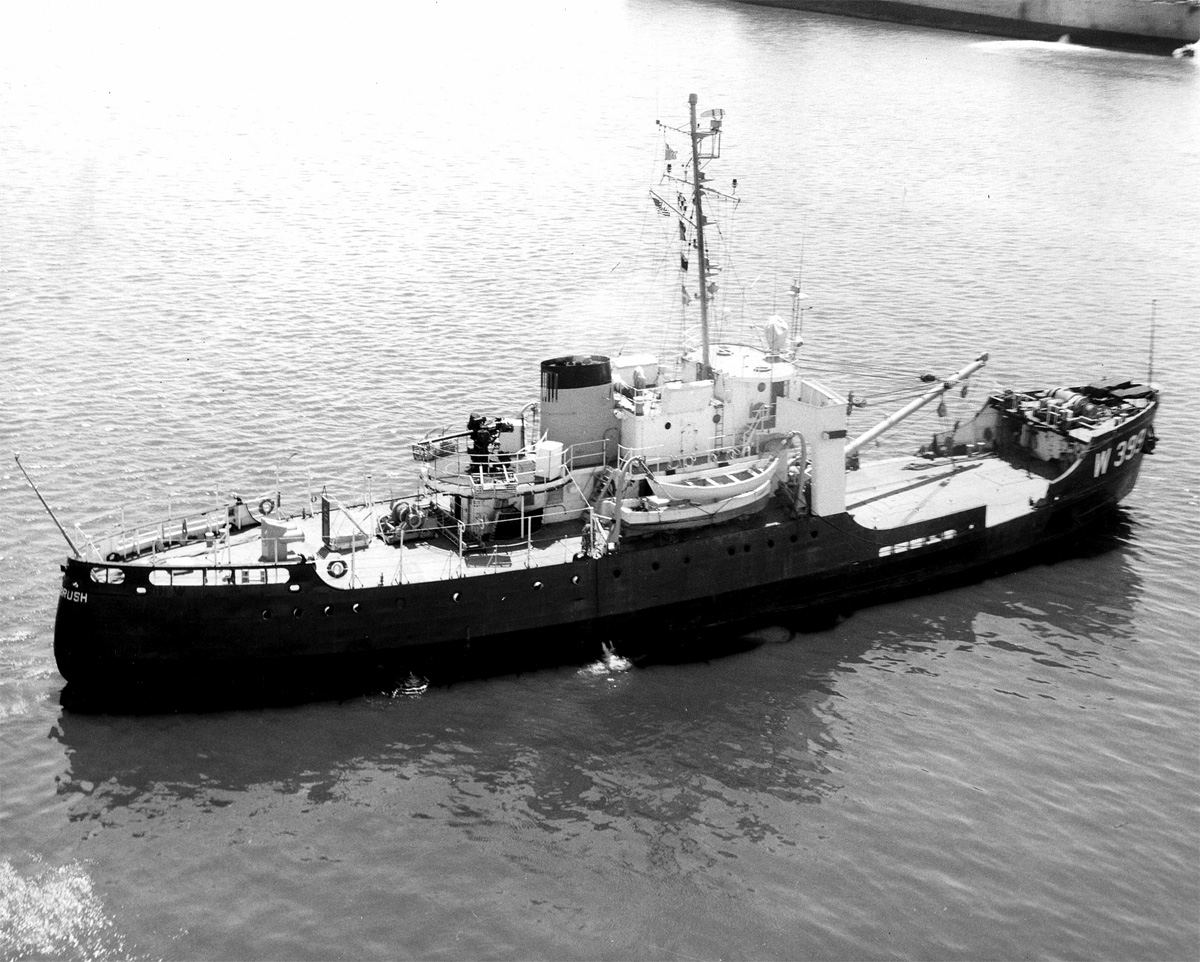 USCGC SAGEBRUSH. US Coast Guard photograph.