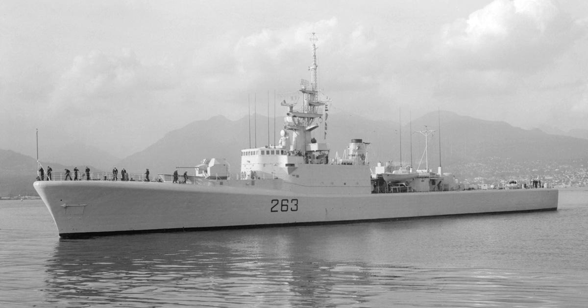 HMCS YUKON. Photo by Walter E. Frost