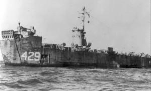 LSM-429. Photo from the USS LSM / LSMR Association via Navsource.org.